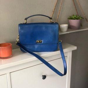 J. Crew Edie Bag Cobalt Blue